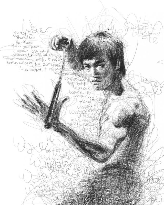 这是一个读写障碍的人画出的明星肖像,你有什么感想?