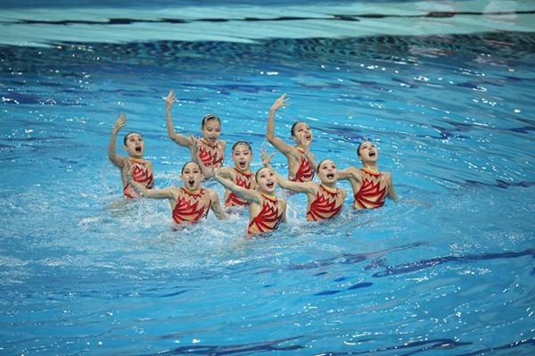 2019年全国花样游泳青少年U系列锦标赛今日完美收官