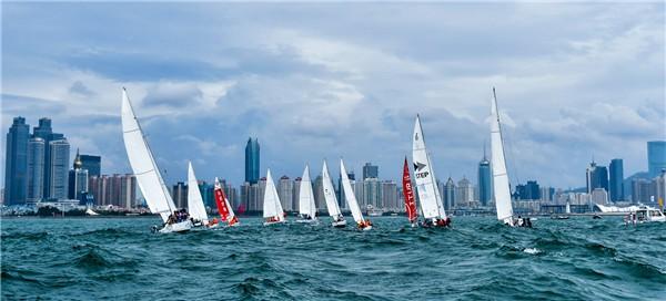 2019国际名校帆船赛顺利起航 厦门大学迎开门红