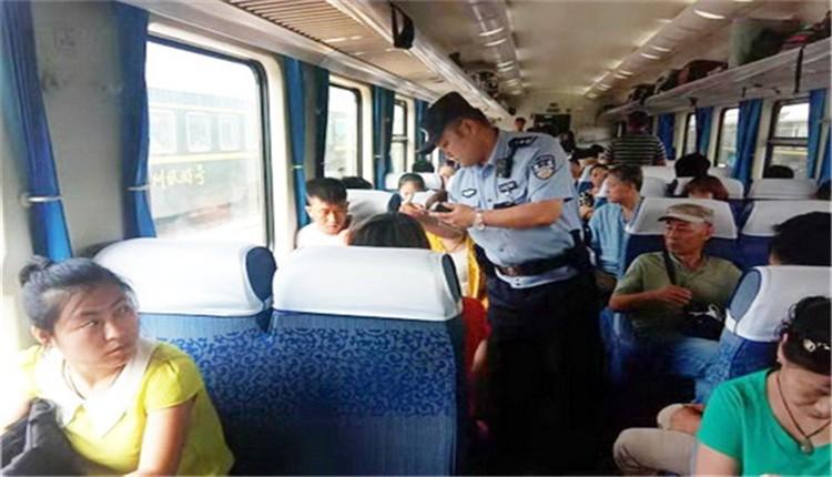 青海省西宁西站派出所:线路治安隐患零容忍