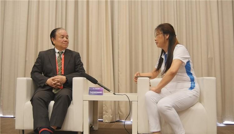 视频专访渡部御二//2019全球工业智能峰会 日本工业价值链促进会目标是要实现数字化和信息化