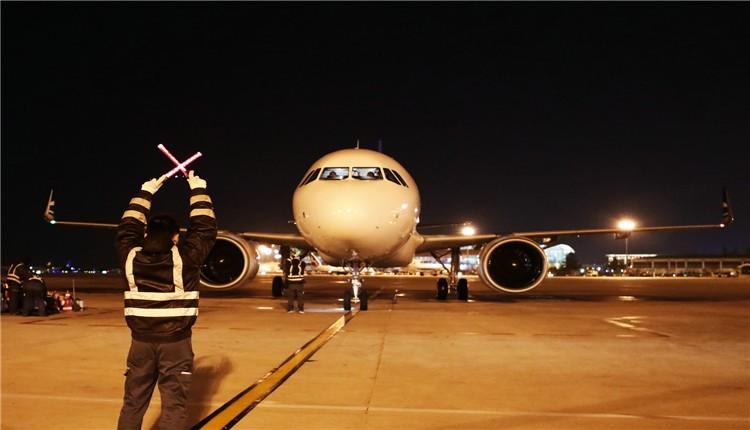 彩立方平台官网航空再添新飞机 机队规模达到25架