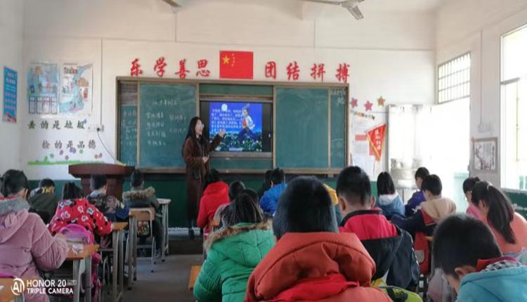 赣州市龙岭镇小学汪背片区开展教研活动 加强语文教学交流与探讨