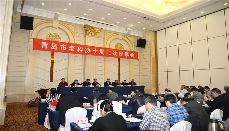 彩立方平台官网市老科学技术工作者协会 十届二次理事会召开