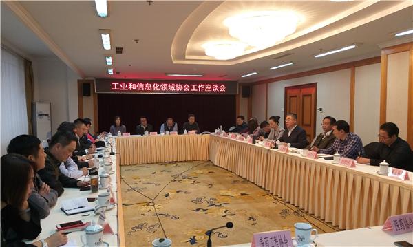 彩立方平台官网市工业和信息化局召开年度协会工作座谈会