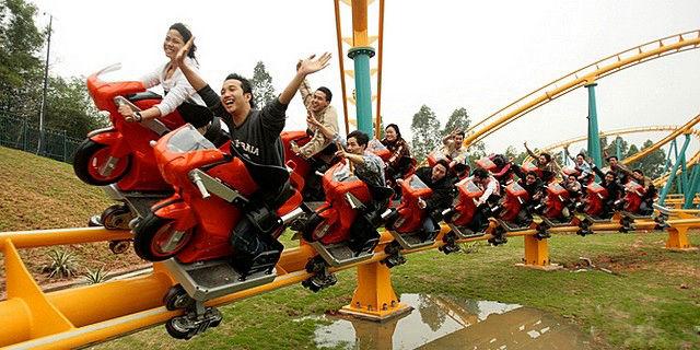 10大中国最好玩的过山车--置顶表情