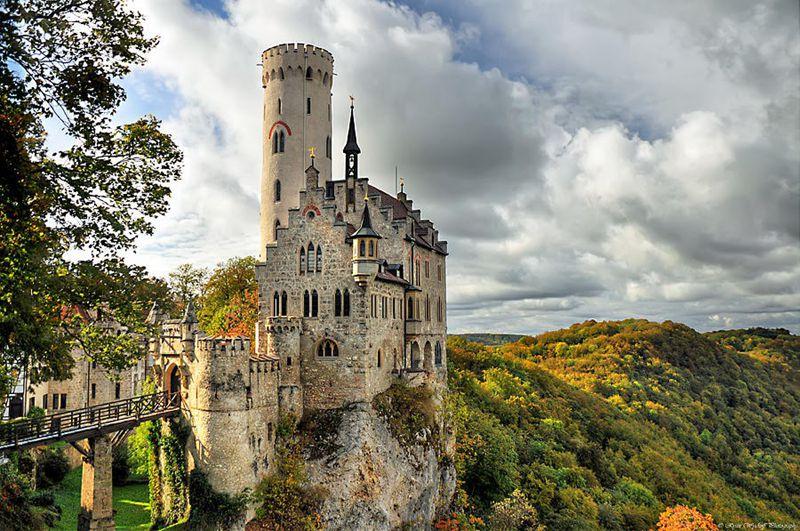 25个世界上最迷人的城堡