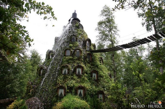 神奇的魔法木制酒店,童话森林里的城堡