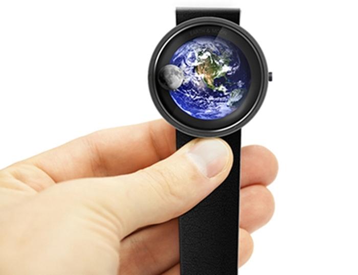 绝美腕表——地球与月亮概念手表 找寻时间的艺术