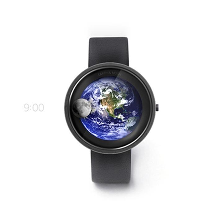 绝美腕表——地球与月亮概念手表 找寻时间的艺术--置顶表情