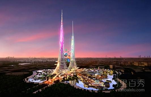 中国武汉将建世界最高建筑 — 凤凰塔
