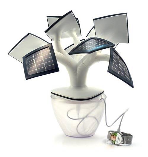 会充电的树,既可以充电又可以照明,实用又美观--置顶表情