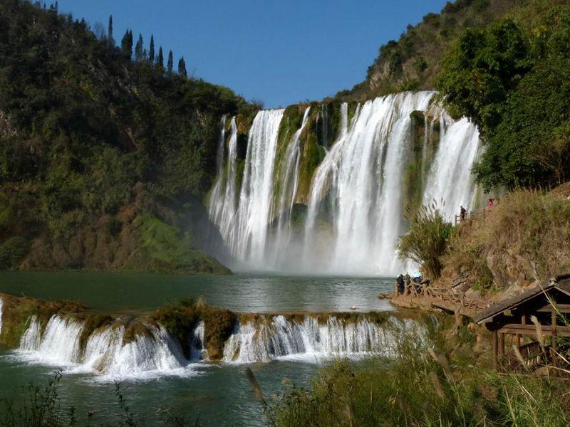 22个中国最美最酷瀑布,你去过哪一个--置顶表情