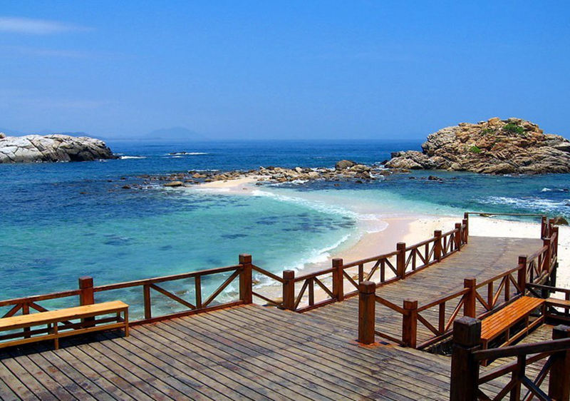 八大中国最美海滩,夏天游泳好去处