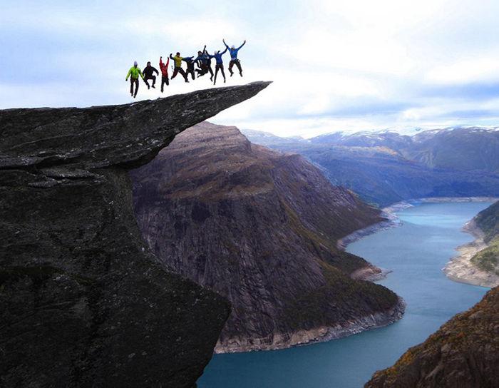 世界上8个最惊心动魄的景点--置顶表情