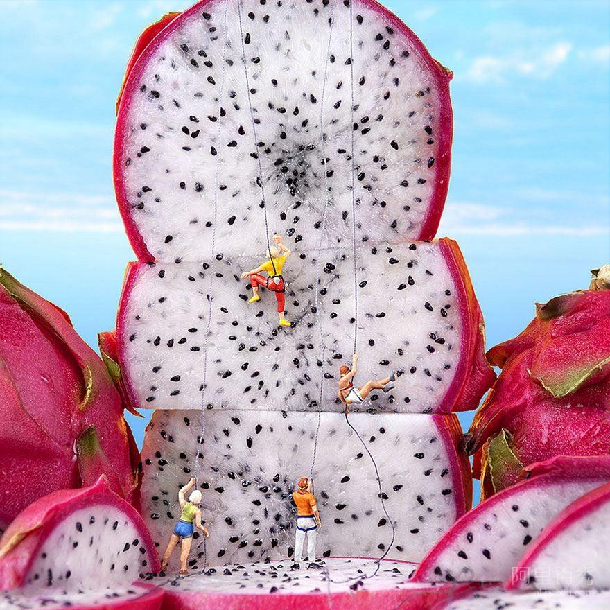 20个有趣的水果组合微型话剧--置顶表情