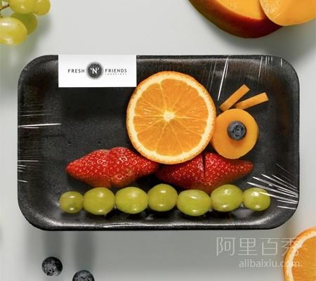 俏皮可爱的水果拼盘,不怕孩子再挑食--置顶表情