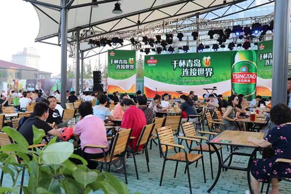 23届青岛啤酒节图片_啤酒节美食升级助力夜经济青岛啤酒奥古特花园带来全新品质
