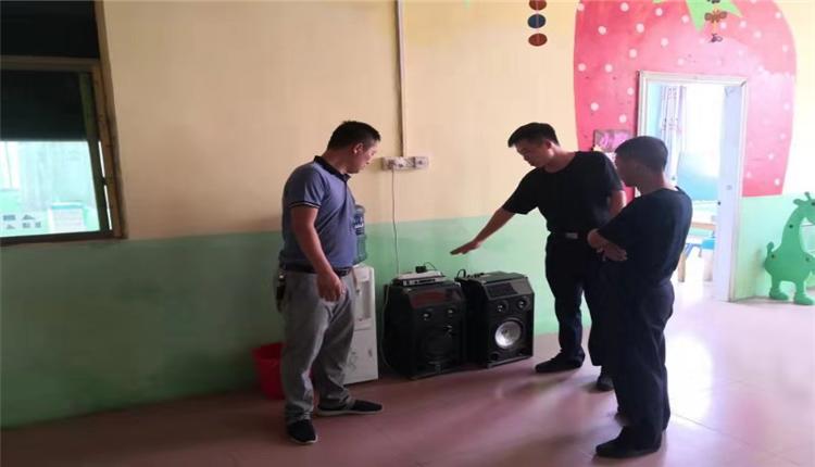 江西赣州:龙岭镇中心小学开展校园安全隐患排查及周边环境整治活动