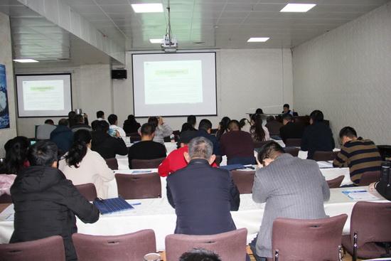 青海省海北州举行民营企业项目申报培训班