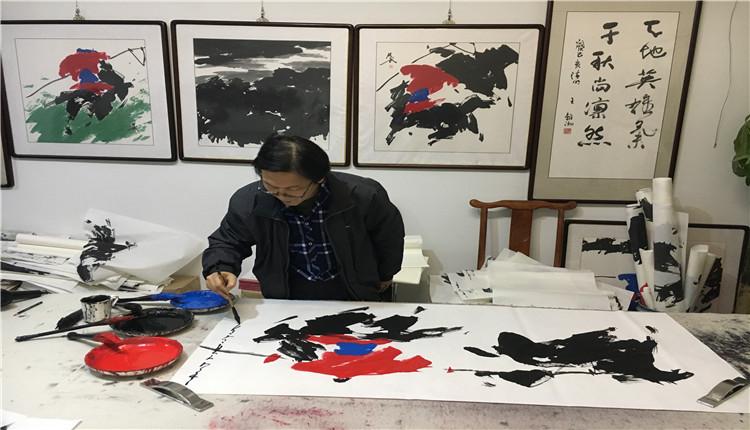 河北遵化:年轻的大写意画家贾双武作品欣赏